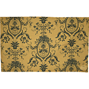 Late 19th/Early 20th C. French Cotton Toile Print Fabric (9257)