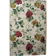 Beautiful 20th Century American Floral Wallpaper (9447)