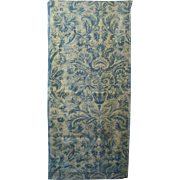 Fortuny Fabric: Beautiful Antique Early to Mid 20th c. Italian Print