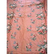 Lovely Vintage 1940's American Cotton Quilt (9538)