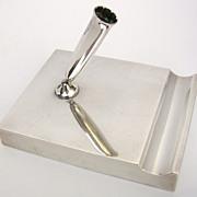 SALE!!  Tiffany Makers Sterling Pen Holder/Desk Piece  c. 1950