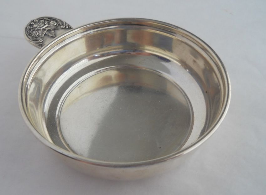 Kirk & Son Vintage Sterling Porringer-Repousse Handle 1940'S