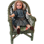 Adorable Tiny 10 Inch Series C Steiner w/ Very Unusual Experimental Sitting Body