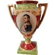 Lovely Vase w/Picture of Napoleon, for your Fashion's Salon