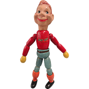 Howdy Doody Doll, Wooden Jointed 1940s