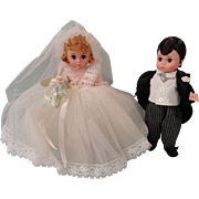 Madame Alexander Bride and Groom