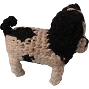 Tiny Crocheted Bulldog