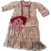 2 Pc. Artist Made Doll Dress
