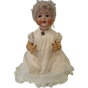 "24"" Happy, Flirty-eyed Simon & Halbig Baby Doll, Mold #156"