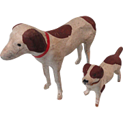 Pair of Putz Dogs, Germany