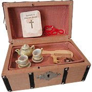 Small Doll Trunk w/Little Treasures