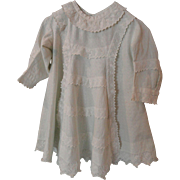 Pale Aqua Dress for Child or Large Doll