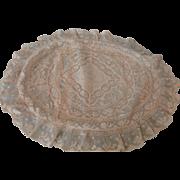 Sweetest Net Lace Pillow w/Original Silk Satin Insert