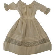 Early Factory Dress for Kid Bodied Doll