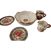 Lot of Limoges Dishes for your Doll's China Cabinet