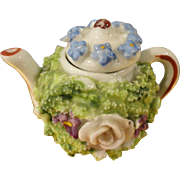 Miniature German Elfinware Teapot 1 1/2""