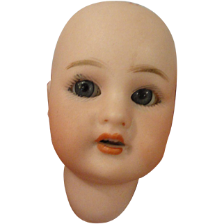 "Simon & Halbig Bisque Head Only for 8"" All Bisque Doll"