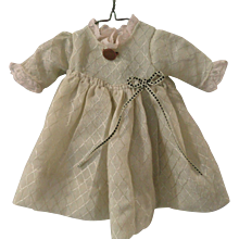 Pale Sage Green Dress for Small Doll