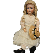 Huge Beautiful 35 Inch H. Handwerck Doll