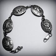 Native American Navajo IHMSS Link Bracelet