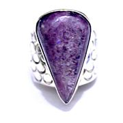 Native American Navajo Hackmanite Ring