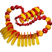 Bakelite 1930's Necklace Set