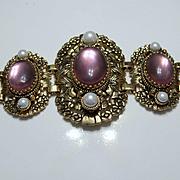 Costume Rose Quartz Bracelet