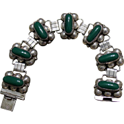 Mexico Far Fan Sterling Link Bracelet