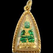 22kt Gold Buddha Amulet Pendant