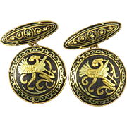 Damascene Vintage Cufflinks