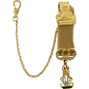 c1911 Lady's Watch Fob and Watch Chain
