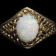 14K Australian Opal Ring