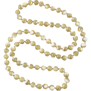Long Strand Mother of Pearl Beads 30""