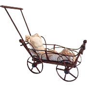 Fabulous Antique Doll Carriage