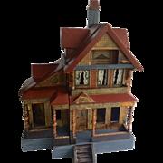 Beautiful Antique Bliss Seaside Dollhouse Litho ca. -903