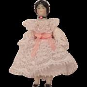 """Tiny China Head Doll 1 7/8"""""""