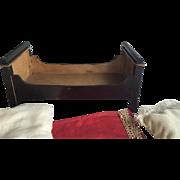 Early Kestner Dollhouse bed ca.1840