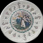 Kate Greenway Royal Doulton Almanack Plate Taurus