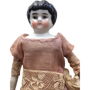 """Lovely Antique 6 1/2"""" China Head Doll"""