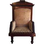 Antique Large Scale German Chair ca. 1900