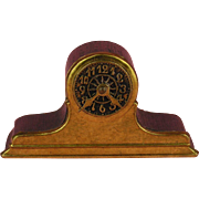 Antique Dollhouse Ormolu Erhard & Sohne Clock