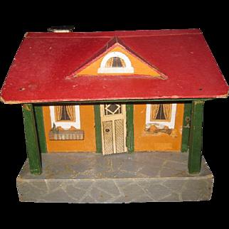 Antique German Dollhouse Cottage ca. 1930