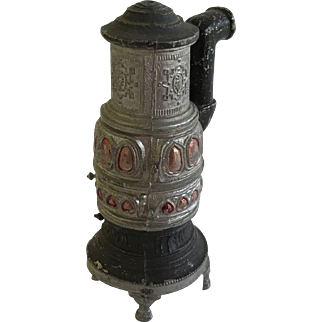 Early Dollhouse Parlor Stove ca. 1900