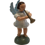 Antique Erzgebirge Music Angel