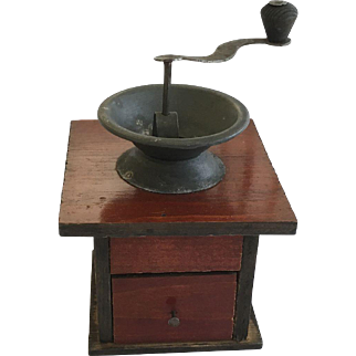 Antique Doll size Coffee Grinder