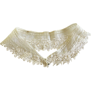 Antique Lace Collar for Antique Bisque Doll