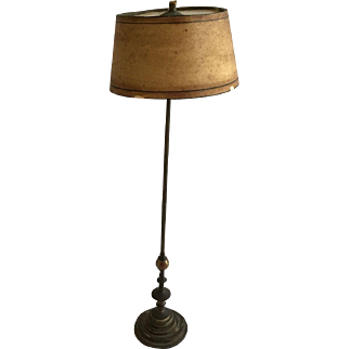 Wonderful Antique Dollhouse Floor Lamp German