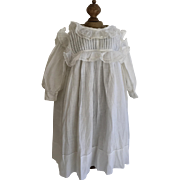 Antique White Pinafore Doll,Dress