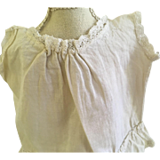 Sweet Antique Camisole Top for Bisque Doll