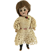 "Sweer Antique 8""German Bisque Doll"